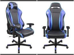 Gamer Desk Chair Sporting Drifting Chair Blue Gamer Officechair Staples Chair