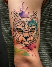 cat watercolor tattoo watercolor pinterest watercolour