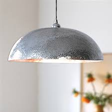 hammered metal pendant light hammered metal pendant i m really into the simplicity of this one