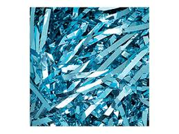 mylar shred mylar shred 5 lb ctn lt blue item 819010503