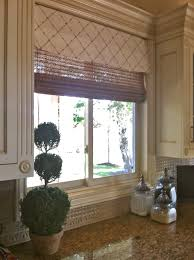 before and after kitchen window treatments u2013 judy u0027s custom workroom