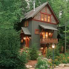 beautiful cabin via this slideshow for inspiring small homes and
