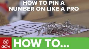 how to dress pro cyclingtips how to pin your race number youtube