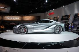 Toyota Ft 1 Engine Toyota Ft 1 Graphite Concept At The 2015 Detroit Auto Show
