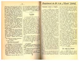 Le Cercle Des Dés Mina Voyance Supplément No 05 1922 By Résonances Mensuel De L Ecole Valaisanne