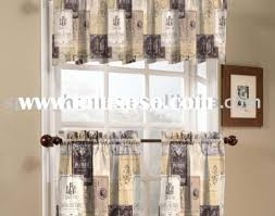 Kitchen Curtains Blue by Curtains Blue Kitchen Curtains Gift Window Treatments For