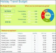 travel budget planner template btegi unique holiday season travel