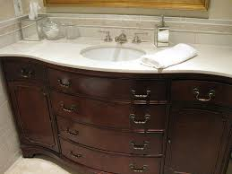 old buffet into bathroom vanity antique buffet vanity converted