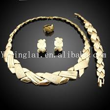gold set in pakistan italian 18k gold plated jewelry set gold plated jewelry wholesale