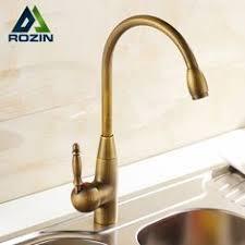retro kitchen faucets solid brass beige white kitchen faucet spout water