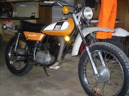 nicely restored u002781 yamaha it 175 the golden age of the dirt