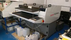 pre press used pre press machines kodak mercury 850 plate processor