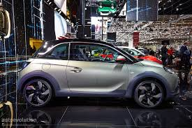 opel adam interior roof opel adam rocks rolls its way to a geneva debut live photos