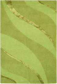 Green Modern Rug 4 10 X 7 10 399couristan Anthians Collection 8181 1010