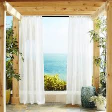 white sheer curtain panels