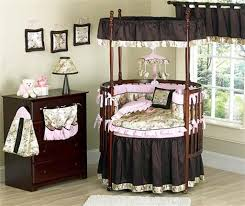 Baby Crib Side Bed Cherry Crib Fixed Side With Canopy Post And Canopy Frame