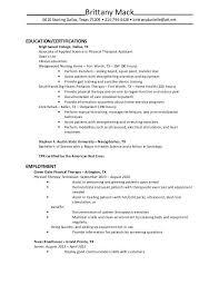 pta resume lhiginbotham pta resume pta resume pta resume 2