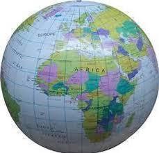 global map earth globe 40 cm atlas world map earth uk seller