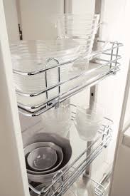 i510 030 300mm soft universal side mount pull out kitchen storage