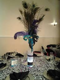 peacock centerpieces wedding masquerade centerpieces ideas wedding decor theme
