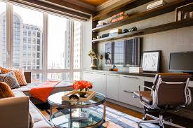 office in the living room how to furnish and love a long narrow living room in 5 easy steps
