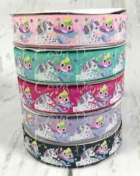 7 8 unicorn ribbon emoji ribbon unicorn and emoji ribbon