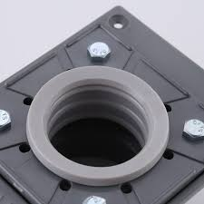 pvc shower drain base with rubber gasket bdb500