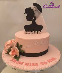 simple bridal shower simple bridal shower cake cake by caramel doha cakesdecor