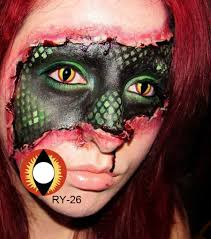 white contacts halloween freshgo halloween white blue red purple cat eye lenses dragon eye