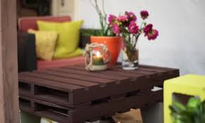 diy outdoor furniture pallet table and cinder block bench 28