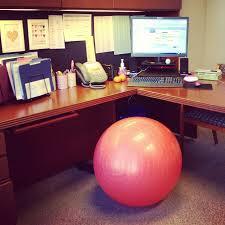 exercise ball desk chair desk design cozy exercise ball desk