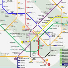 Singapore Mrt Map The Rise At Oxley Residences Call 6100 0607 Showflat Hotline