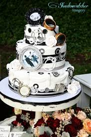 steampunk cake by flour power san diego steampunk wedding