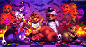five nights at freddy s halloween update fnaf sfm happy halloween by anthonyblender on deviantart kumpulan