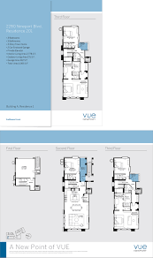 the vue floor plans vue newport ross designs