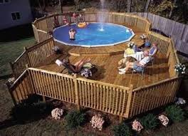 Above Ground Pool Ideas Backyard Best 25 Above Ground Pool Decks Ideas On Pinterest Above Ground
