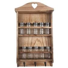 Wood Wall Mount Spice Rack Wall Spice Rack When I Helped Decorate My Nursery Last Year Check