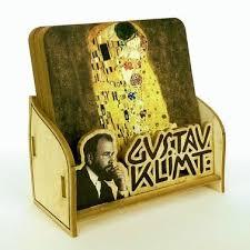 Beverage Coasters Beverage Coasters Gustav Klimt Gustav Klimt Souvenirs Austria