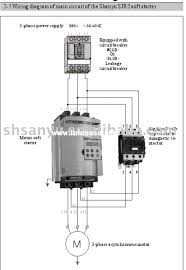 component motor starter circuit diagram contactor wiring guide