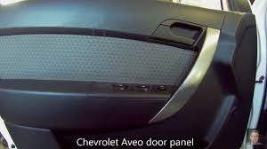 chevrolet aveo door panel removal youtube