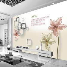 non woven fashion wallpaper tv background bed room sofa background