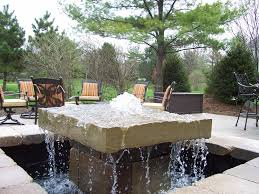 bpi outdoor living water feature water fountain with images on