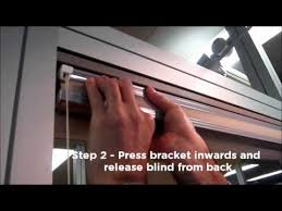 Levolor Blind Clips Pleated Cellular Blind Removal Youtube