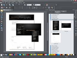 xara page u0026 layout designer 9 2 0 software pembuat brosur