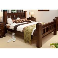 king bedroom suite rustic king size bed wooden furniture sydney timber tables