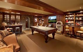 how to create the ultimate man cave sierra home services