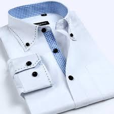 artsy men dress shirts casual clothing s 4xl plaid spring long