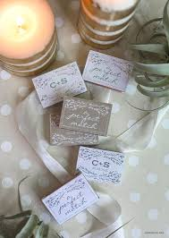 C Favors by Personalized Wedding Matchbox Favors Lia Griffith