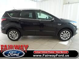 Ford Escape Ignition Switch - 2018 new ford escape titanium 4wd at fairway ford serving