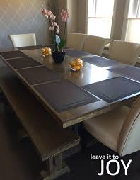 Diy Farmhouse Dining Room Table Diy Farmhouse Dining Room Table For 200 Cad Leave It To